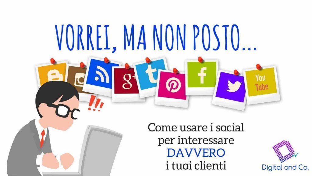 Corso gratuito sui social media a Milano