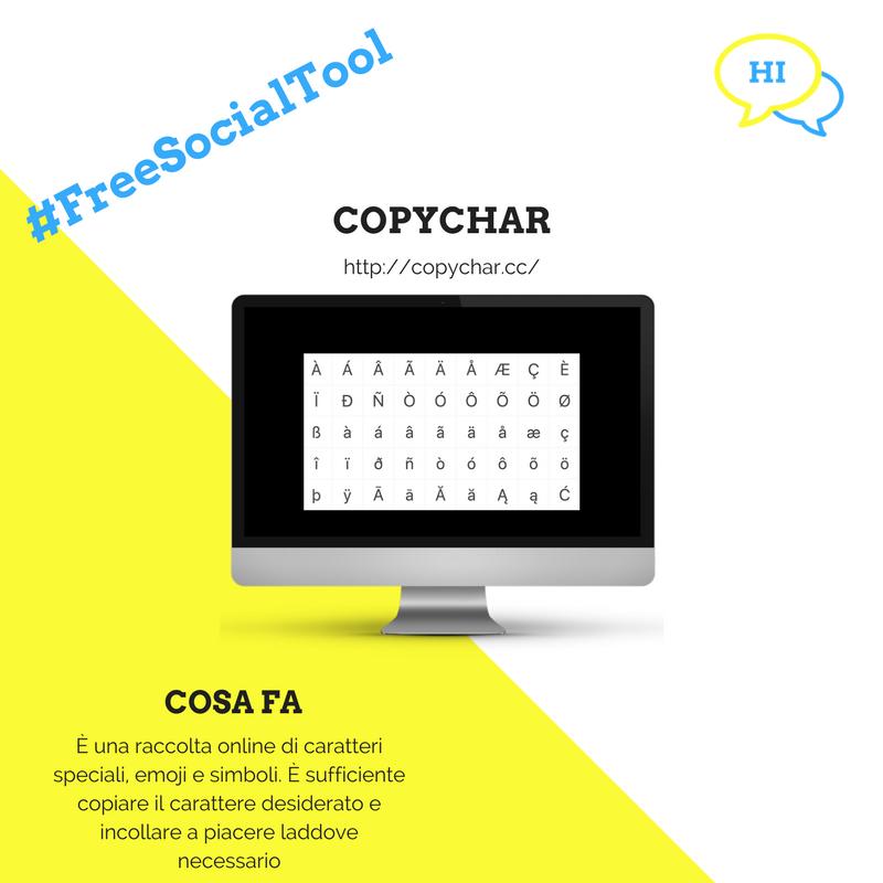 #FreeSocialTool: CopyChar