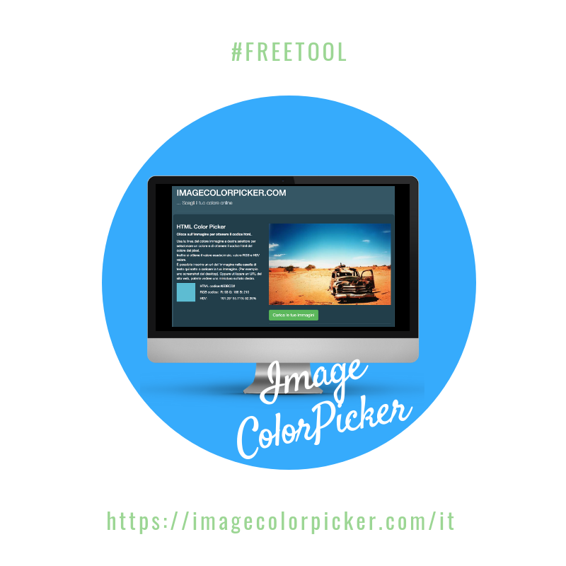 #FreeTool: Image Color Picker